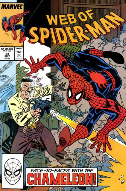 Web of Spider-Man (1985) no. 54 - Used