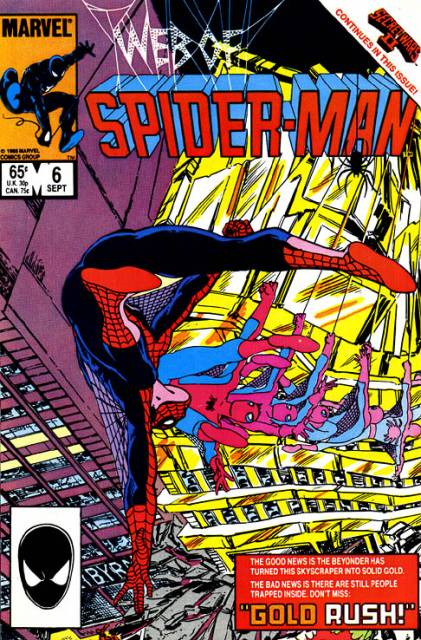 Web of Spider-Man (1985) no. 6 - Used