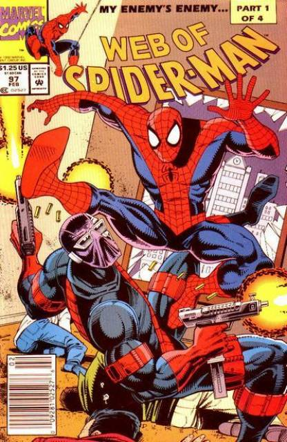 Web of Spider-Man (1985) no. 97 - Used