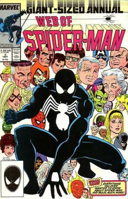 Web of Spider-Man (1985) Annual no. 3 - Used