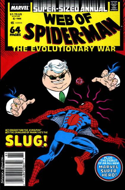 Web of Spider-Man (1985) Annual no. 4 - Used