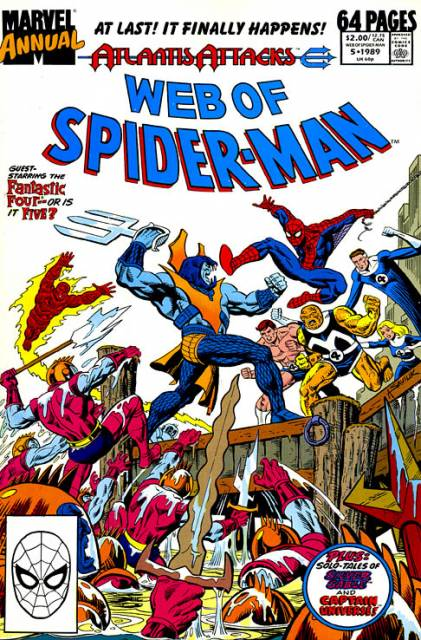 Web of Spider-Man (1985) Annual no. 5 - Used