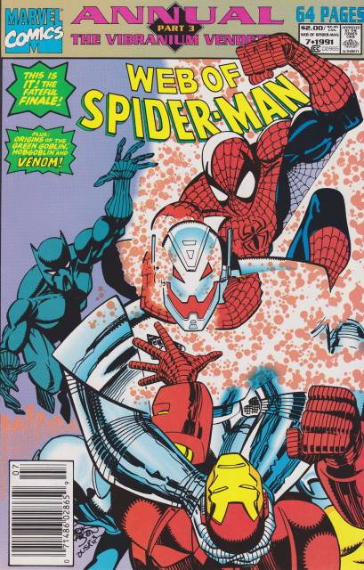 Web of Spider-Man (1985) Annual no. 7 - Used
