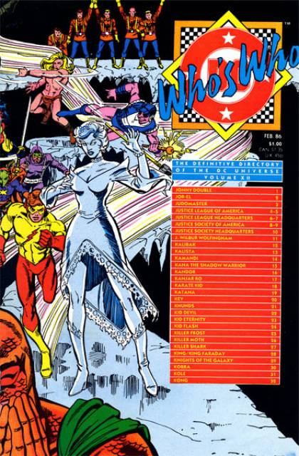 Who's Who (1985) no. 12 - Used
