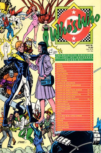 Who's Who (1985) no. 13 - Used