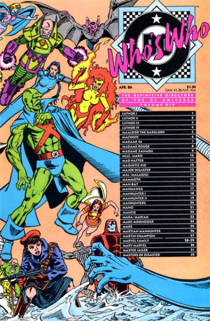 Who's Who (1985) no. 14 - Used