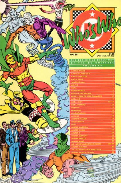 Who's Who (1985) no. 15 - Used