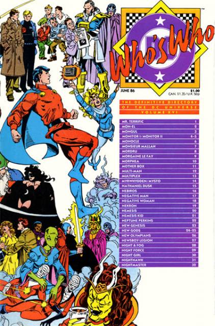 Who's Who (1985) no. 16 - Used