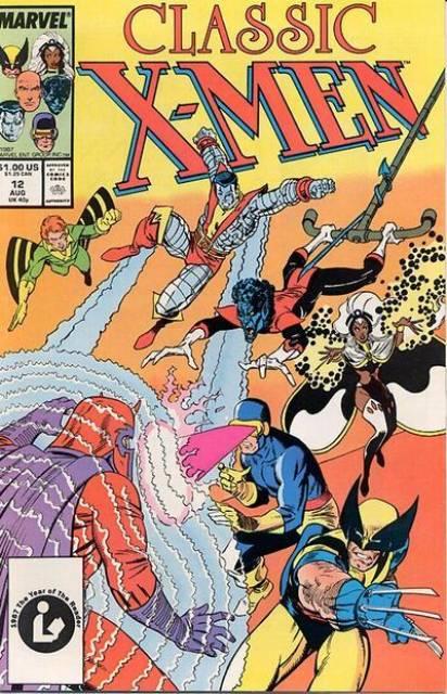 Classic X-men (1986) no. 12 - Used