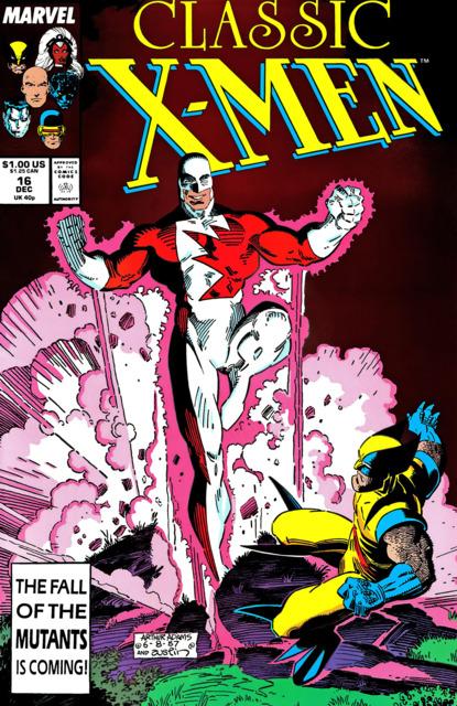 Classic X-men (1986) no. 16 - Used