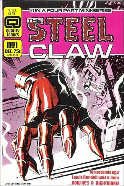Steel Claw (1986) Complete Bundle - Used
