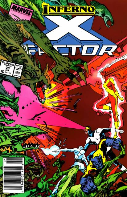X-Factor (1986) no. 36 - Used