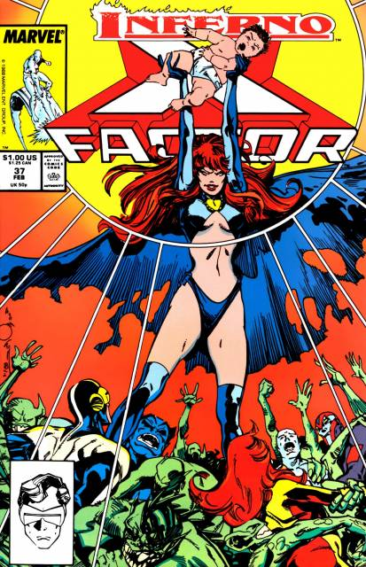 X-Factor (1986) no. 37 - Used
