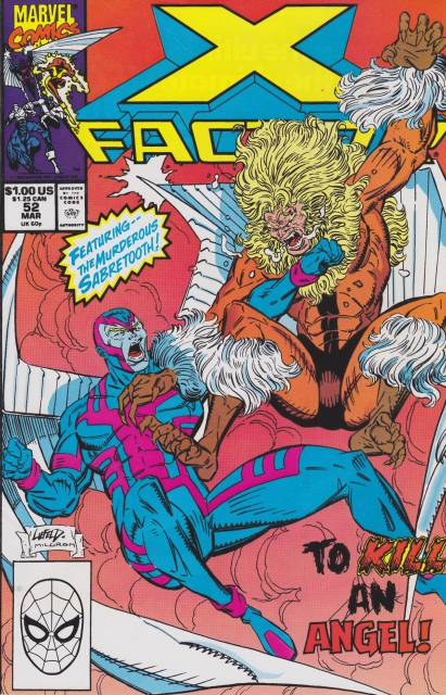 X-Factor (1986) no. 52 - Used