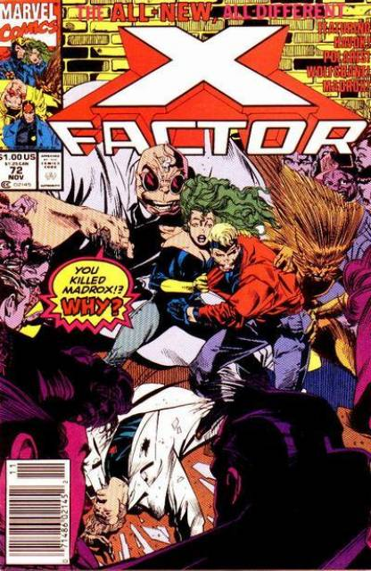 X-Factor (1986) no. 72 - Used