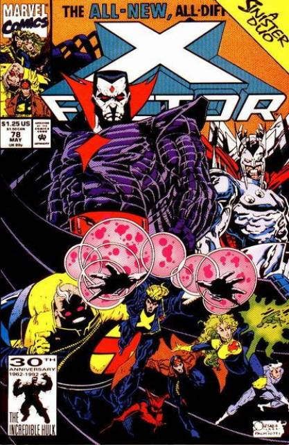 X-Factor (1986) no. 78 - Used