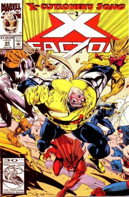 X-Factor (1986) no. 84 - Used