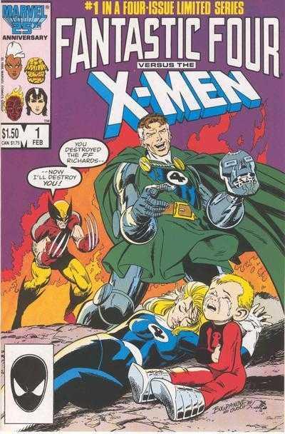 Fantastic Four Vs the X-Men (1987) Complete Bundle - Used