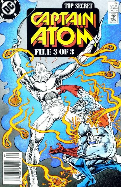 Captain Atom (1987) no. 28 - Used