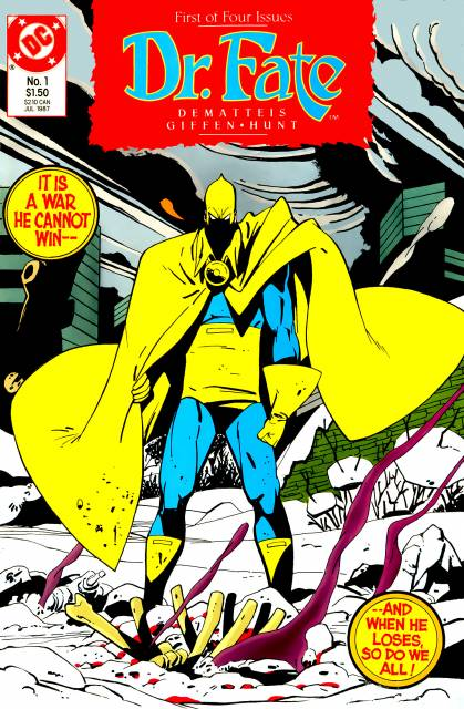 Doctor Fate (1987) Complete Bundle - Used