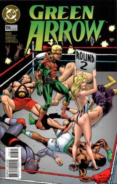 Green Arrow (1987) no. 106 - Used