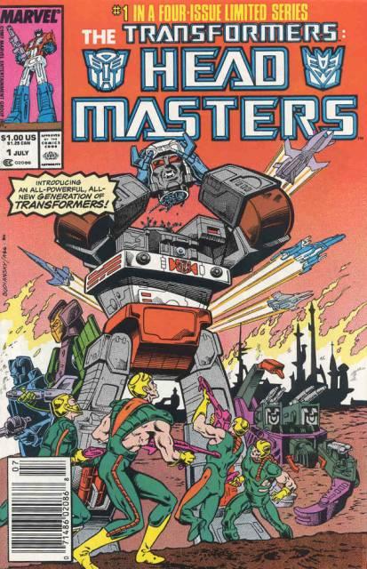 Transformers: Headmasters (1987) Complete Bundle - Used