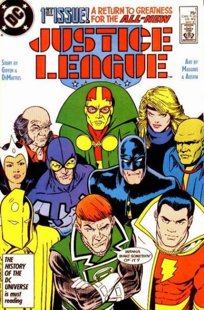 Justice League (1987) no. 1 - Used