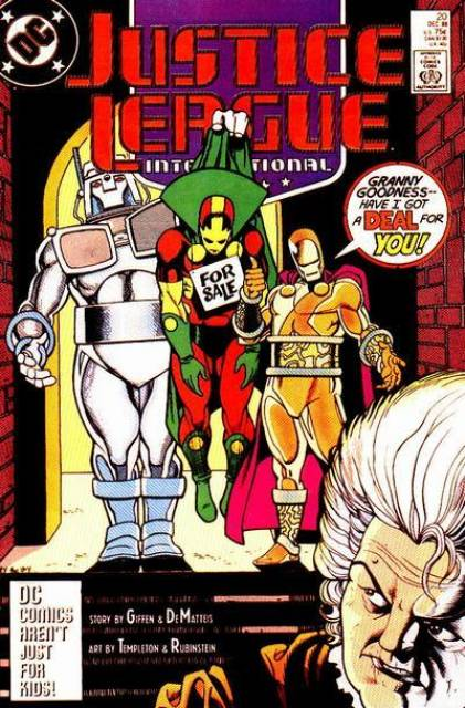 Justice League (1987) no. 20 - Used