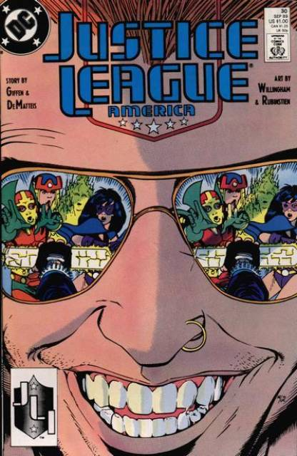 Justice League (1987) no. 30 - Used