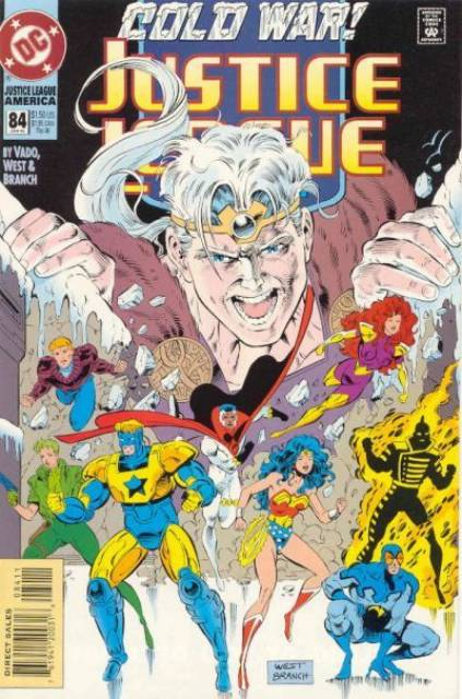 Justice League (1987) no. 84 - Used
