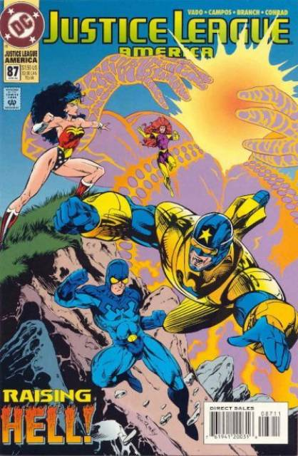 Justice League (1987) no. 87 - Used