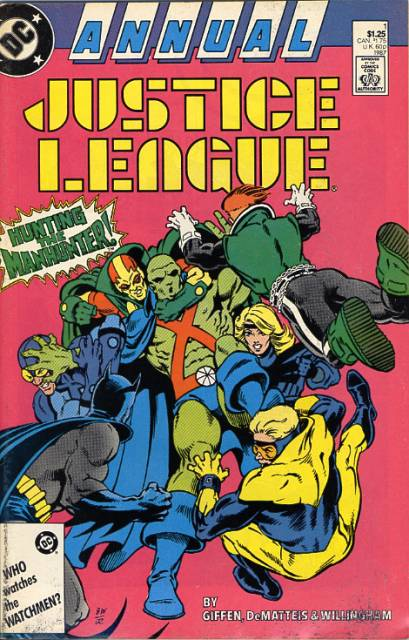 Justice League (1987) Annual no. 1 - Used