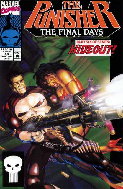 Punisher (1987) no. 58 - Used