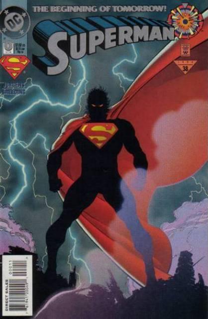 Superman (1987 Series) no. 0 - Used