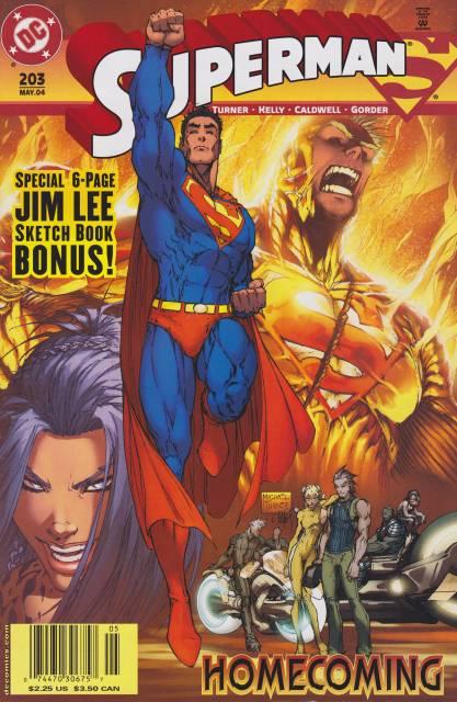 Superman (1987 Series) no. 203 - Used