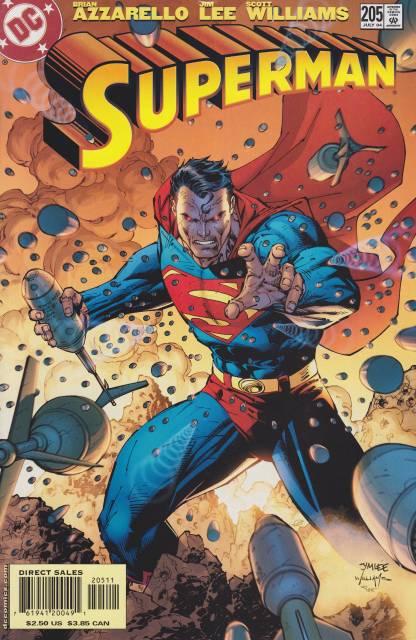 Superman (1987 Series) no. 205 - Used