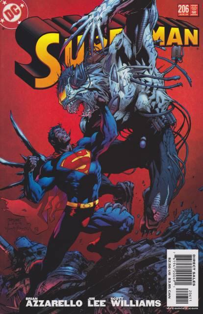 Superman (1987 Series) no. 206 - Used