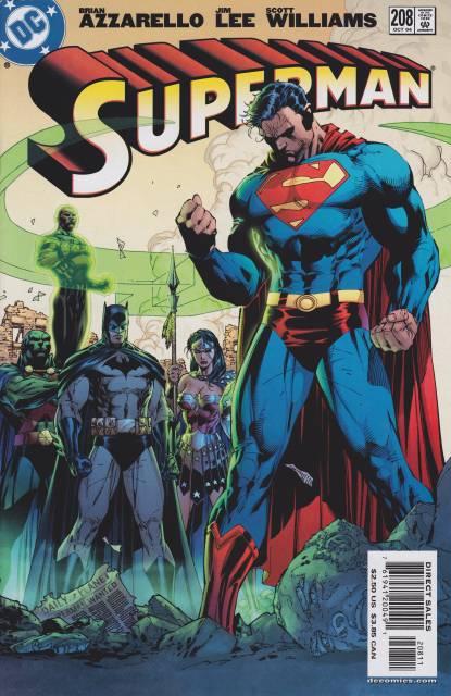 Superman (1987 Series) no. 208 - Used