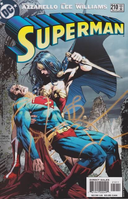 Superman (1987 Series) no. 210 - Used