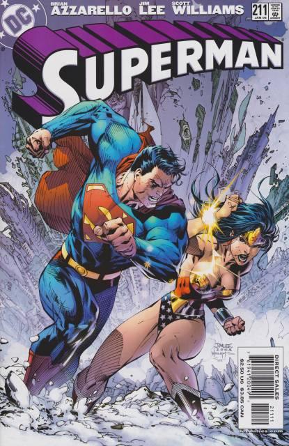 Superman (1987 Series) no. 211 - Used