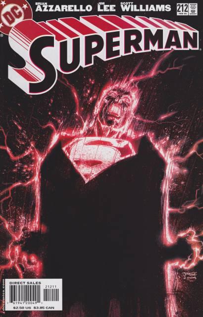 Superman (1987 Series) no. 212 - Used