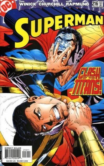 Superman (1987 Series) no. 216 - Used