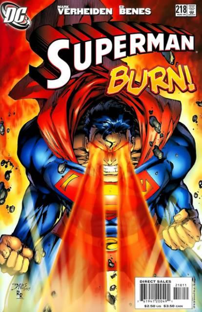 Superman (1987 Series) no. 218 - Used