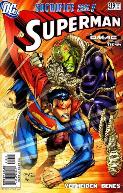 Superman (1987 Series) no. 219 - Used