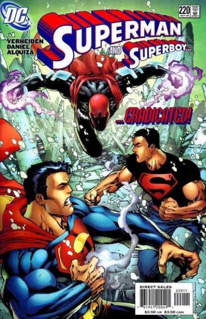 Superman (1987 Series) no. 220 - Used