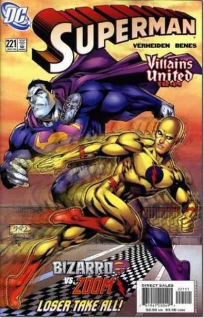 Superman (1987 Series) no. 221 - Used