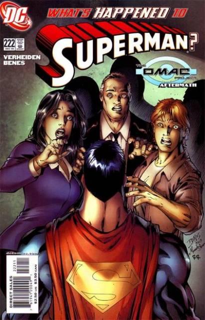 Superman (1987 Series) no. 222 - Used
