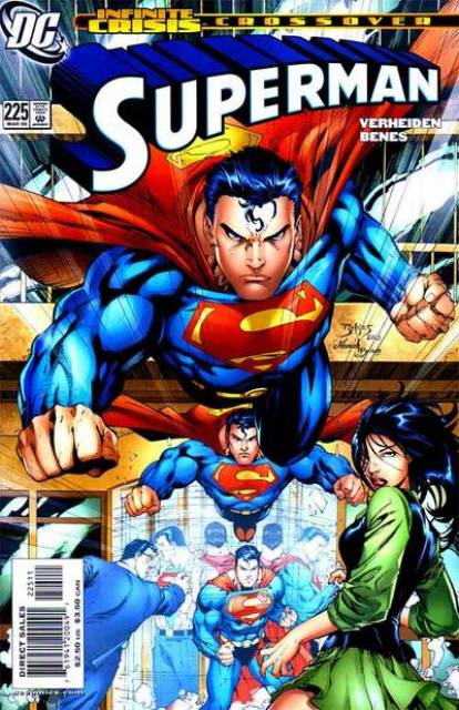 Superman (1987 Series) no. 225 - Used