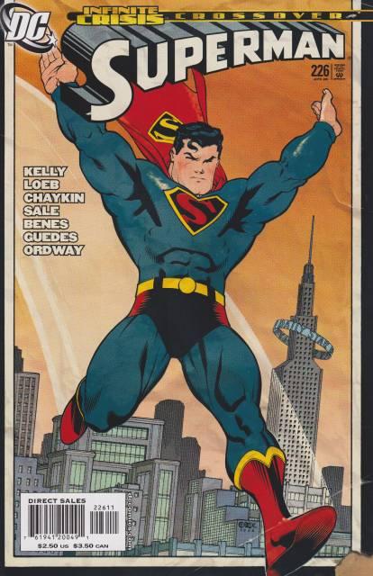 Superman (1987 Series) no. 226 - Used