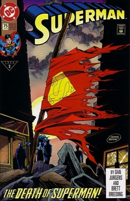 Superman (1987 Series) no. 75 Cover B - Used